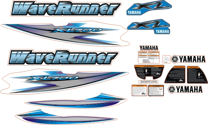waverunner xl700 mavi