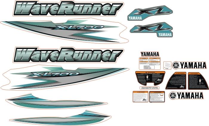 waverunner xl700 yesil