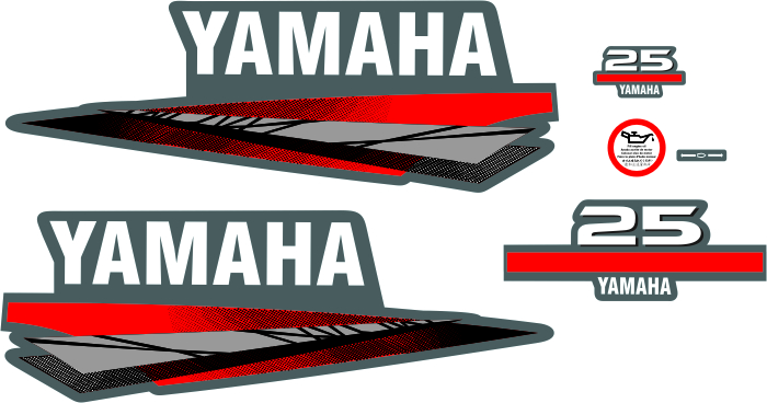 yamaha 2stroke 25 HP